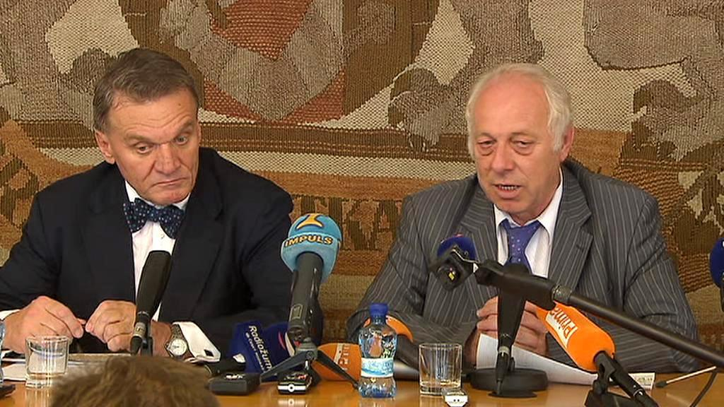 Bohuslav Svoboda a Bohumír Dufek