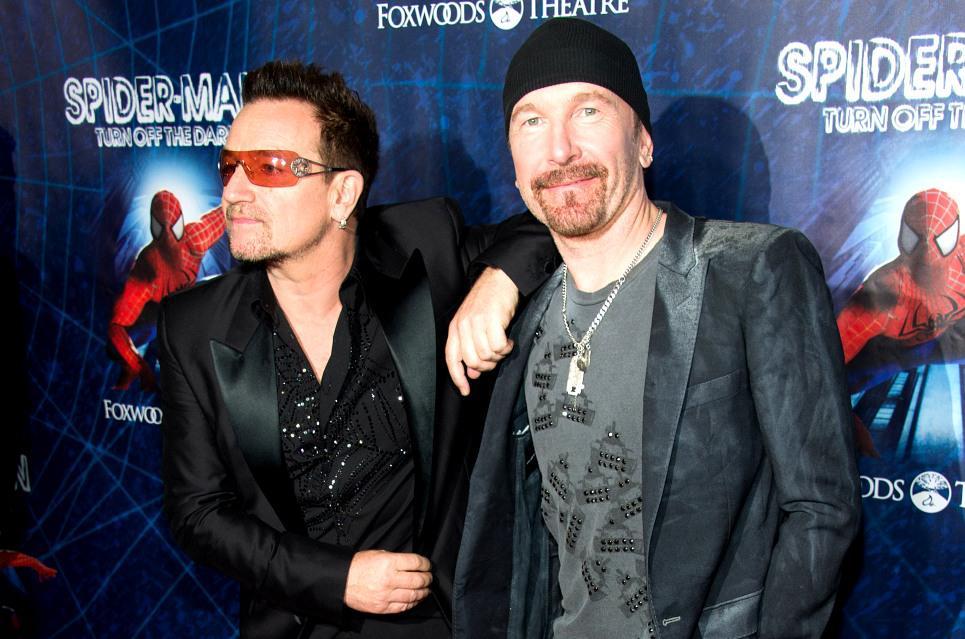 Bono a The Edge