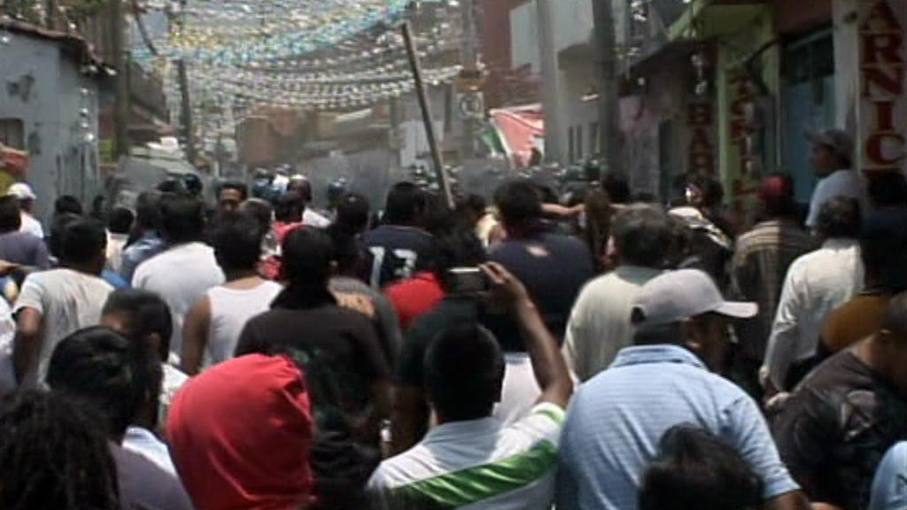 Násilí v mexických ulicích