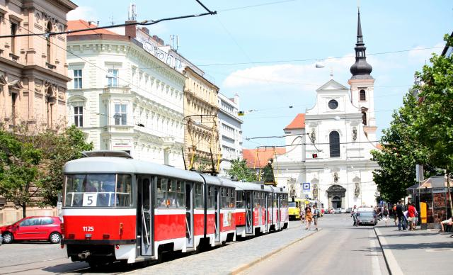 Stávka brněnské MHD