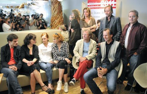 Tisková konference k METROpolitnímu létu hereckých osobností