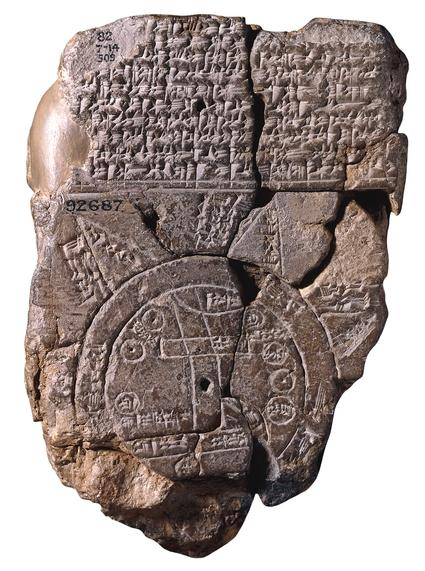 Babylonská mapa světa