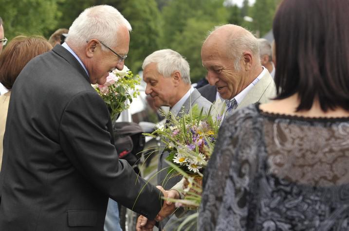 Václav Klaus a Jan Stráský