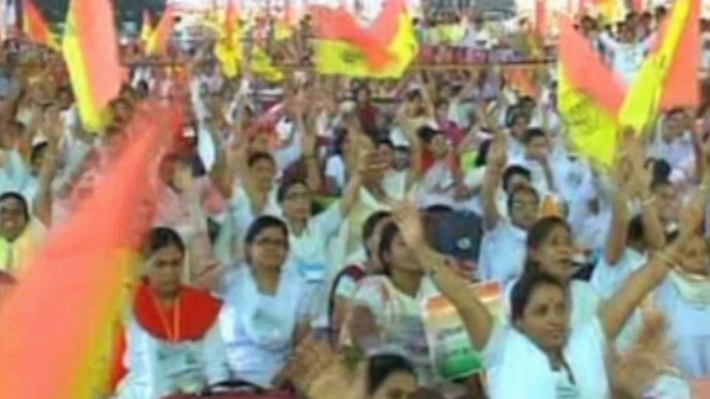 Demonstrace v Indii