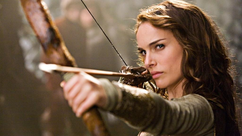 Natalie Portmanová ve filmu Princ a pruďas