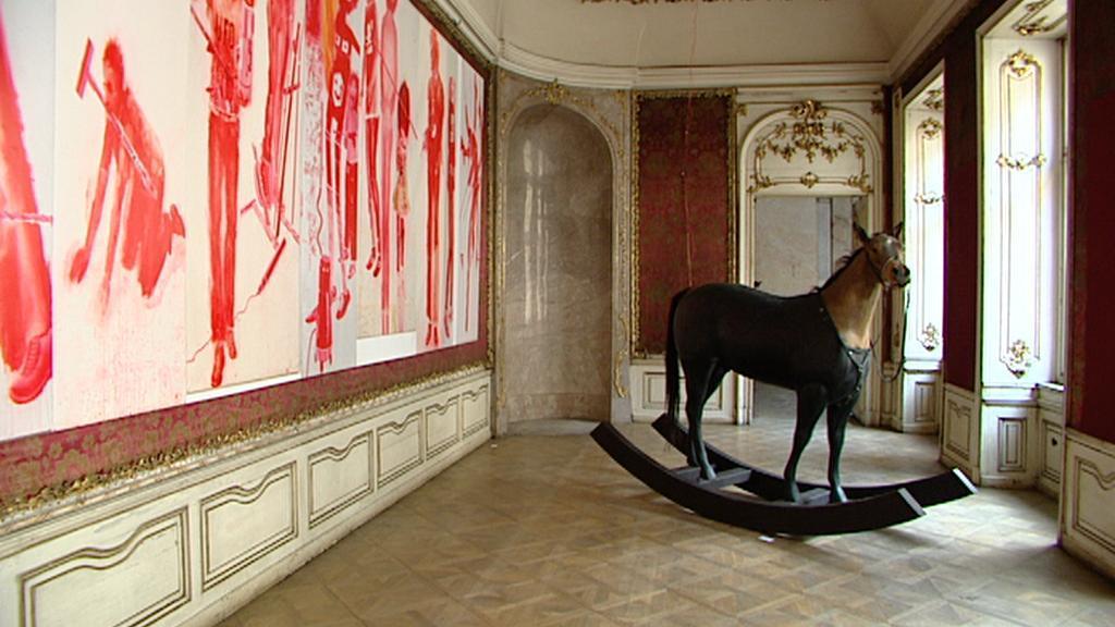 Young Art v Colloredo-Mansfeldském paláci