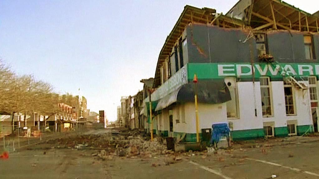 Následky zemětřesení v Christchurchi