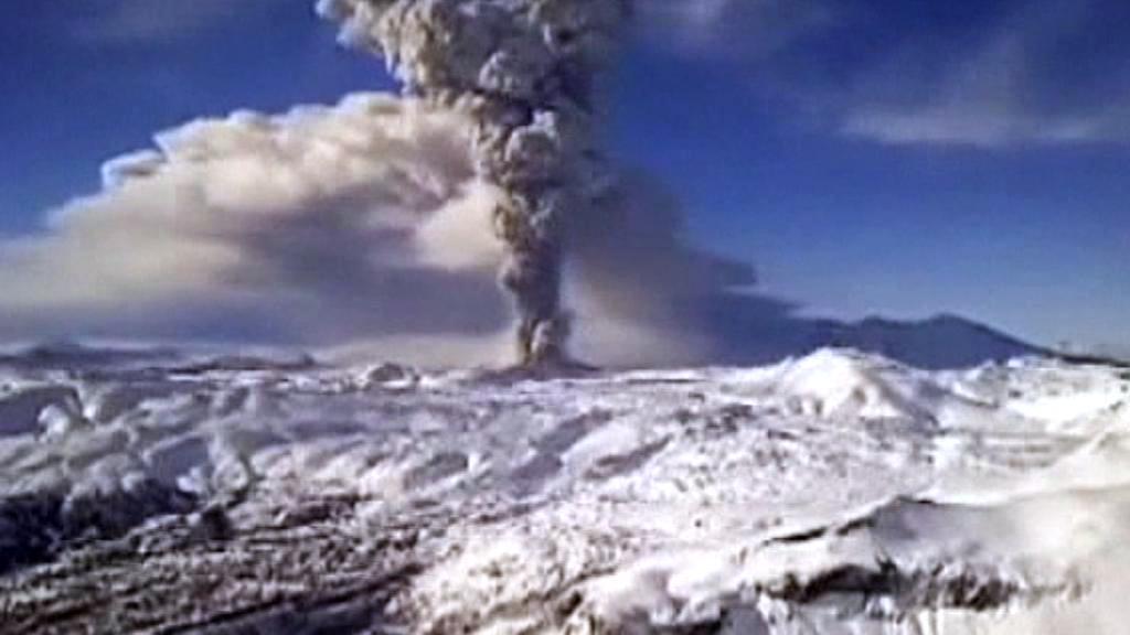 Chilská sopka Puyehue