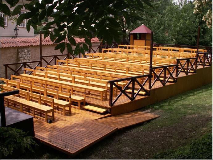 Letní scéna Divadla Ungelt