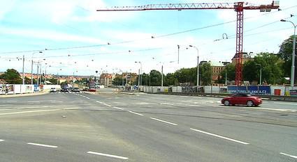 Křižovatka Prašný most