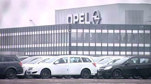 Továrna Opelu v Antverpách
