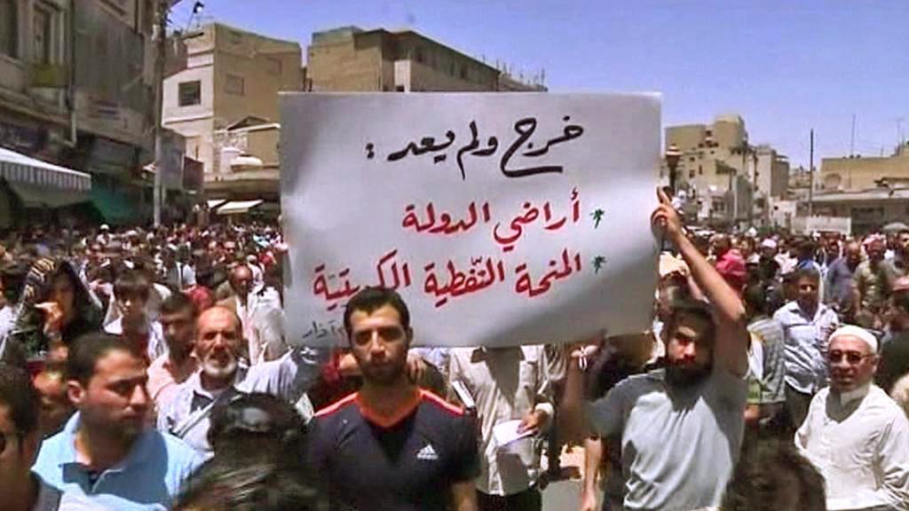 Protesty v Jordánsku