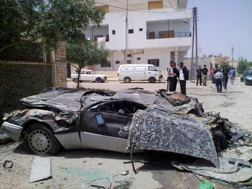Následky protestů v Sýrii