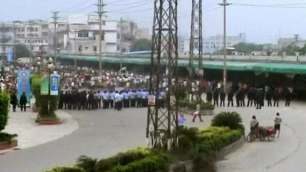 Protesty v Kuang-čou