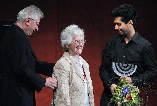 Ocenění Arnošta Lustiga za přínos židovské kultuře