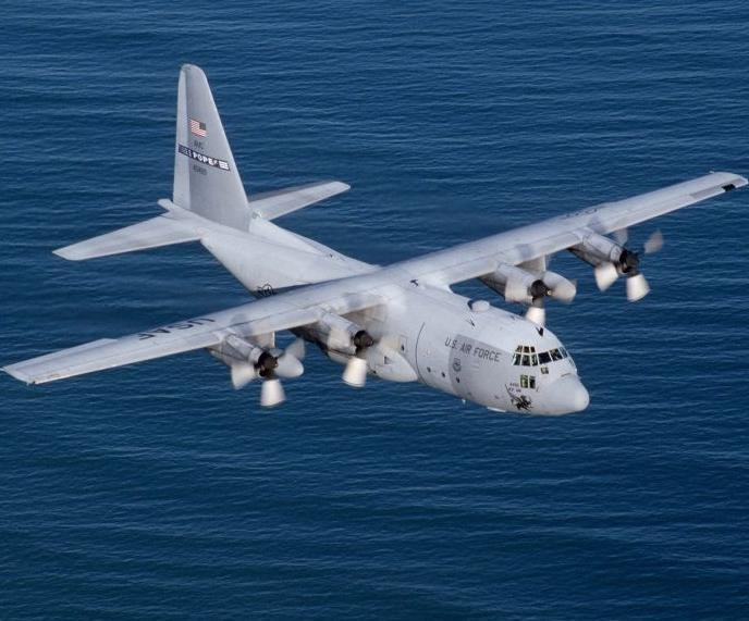 Americký letoun typu Hercules