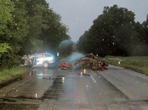 Nehoda u Hluboké nad Vltavou