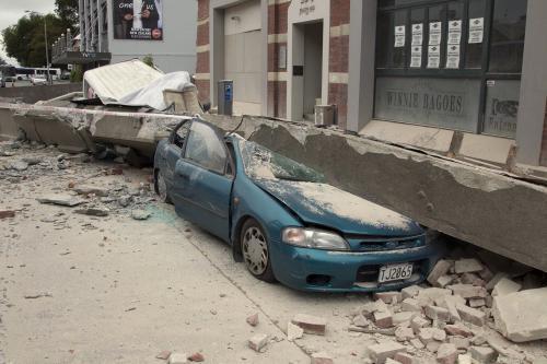 Následky zemětřesení na Novém Zélandu