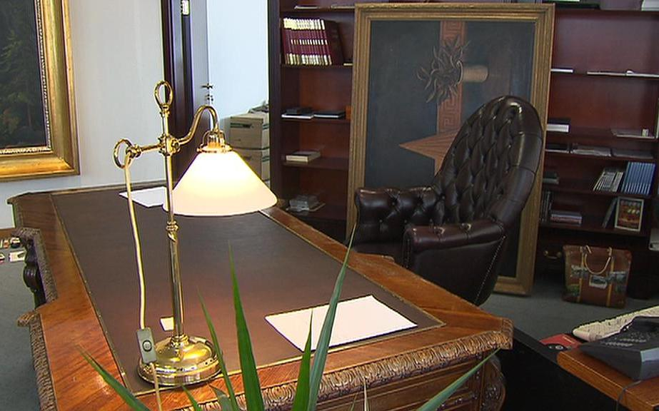 Luxusní kancelář Aleše Hušáka