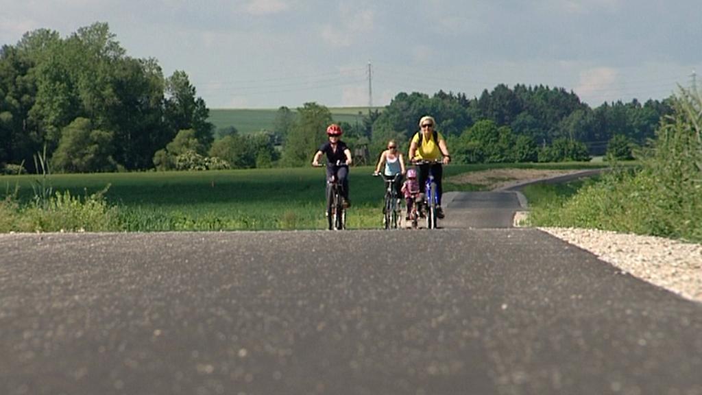 Cyklostezka Poohřím