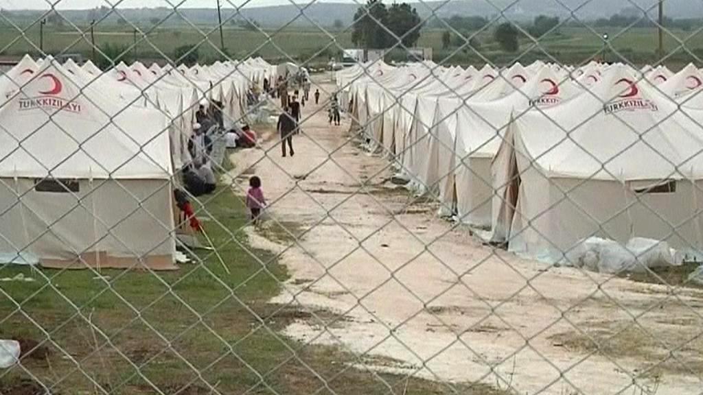 Tábor syrských uprchlíků v Turecku