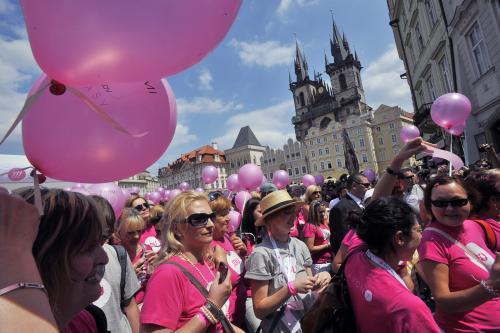 Pochod proti rakovině 2011
