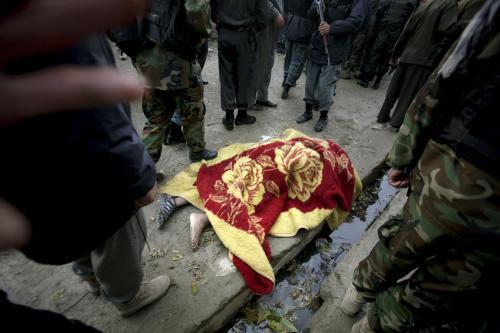 Oběť útoku v Afghánistánu