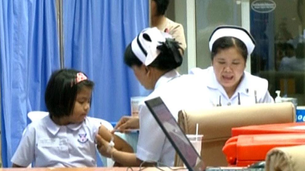 Očkování proti horečce dengue v Thajsku