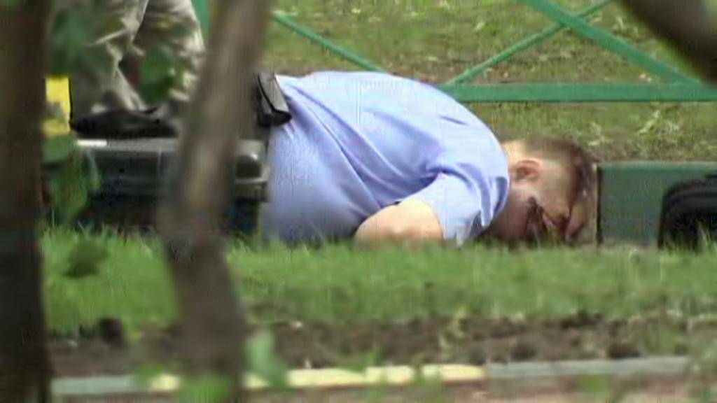 Zastřelený Jurij Budanov