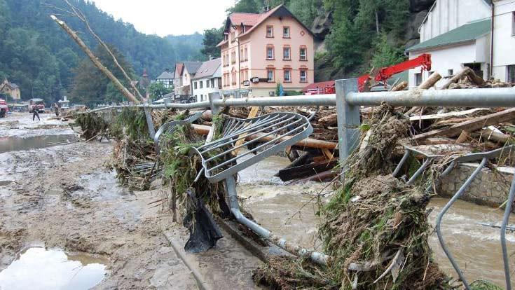 Následky povodní