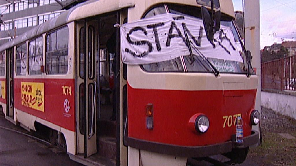 Stávka v dopravě