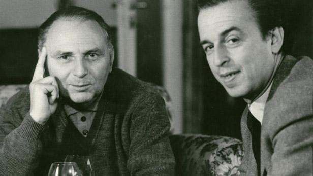 Elmar Klos (vlevo) a Ján Kadár