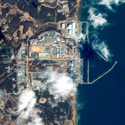 Záběry jaderné elektrárny Fukušima
