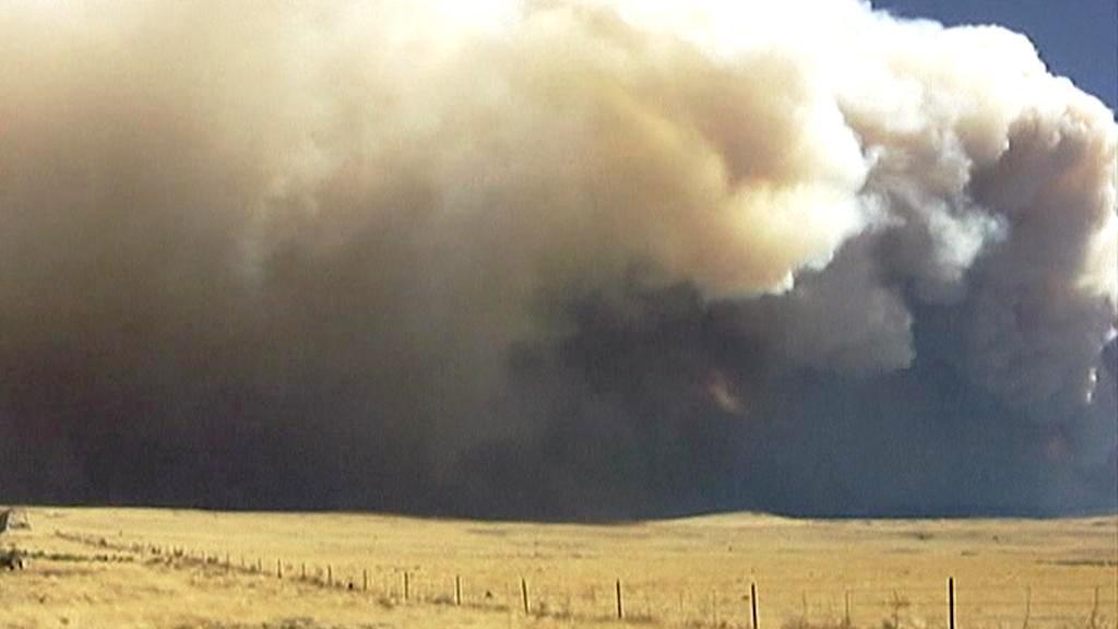 Požár v Arizoně