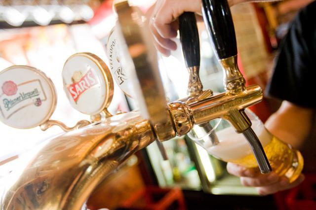 Čepování piva
