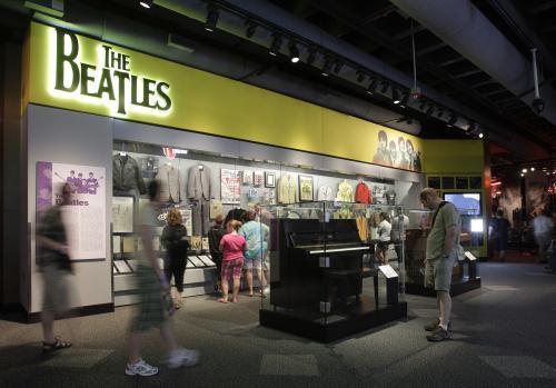 Výstava o Beatles / Cleveland