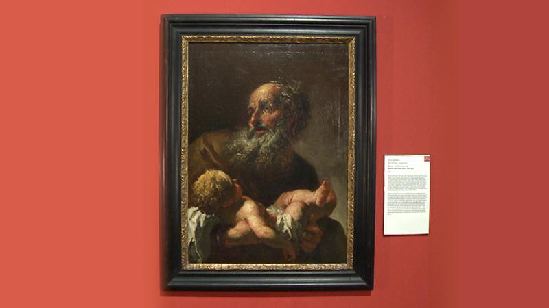 Petr Brandl / Simeon s Ježíškem