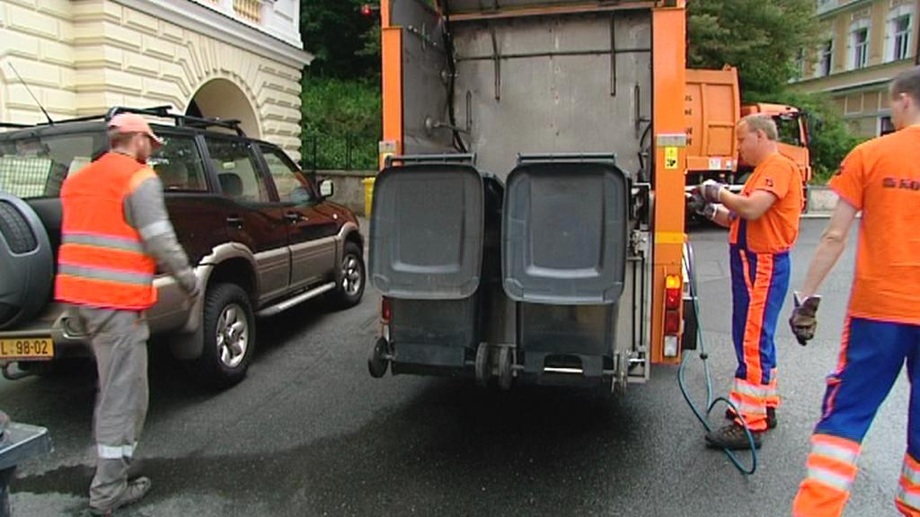 Čištění kontejnerů