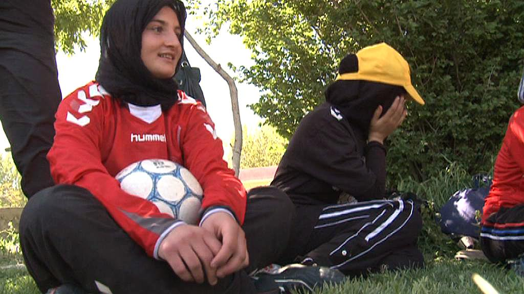 Afghánské fotbalistky
