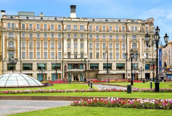 Moskevský hotel Nacional