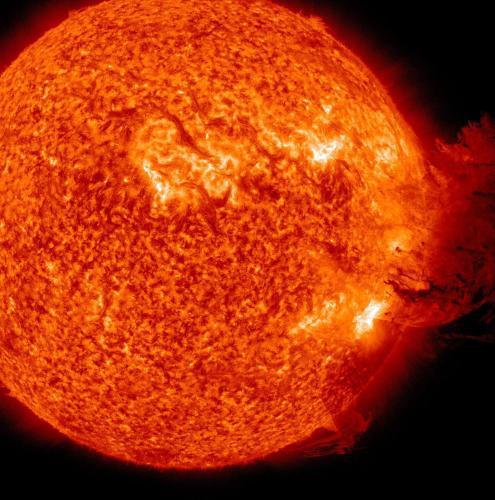 Sluneční erupce