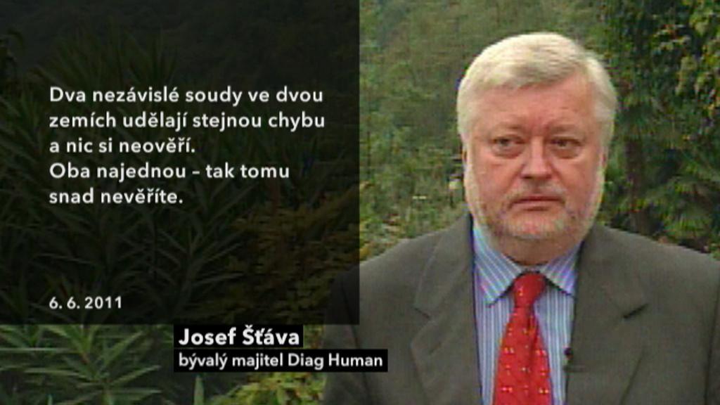 Vyjádření Josefa Šťávy