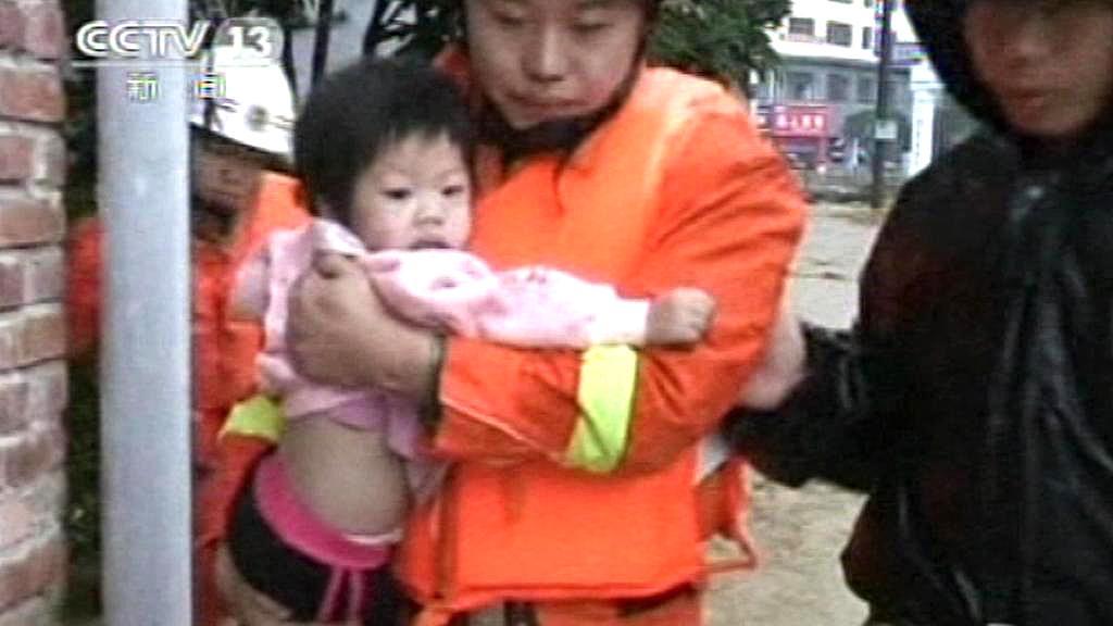 Čínský záchranář