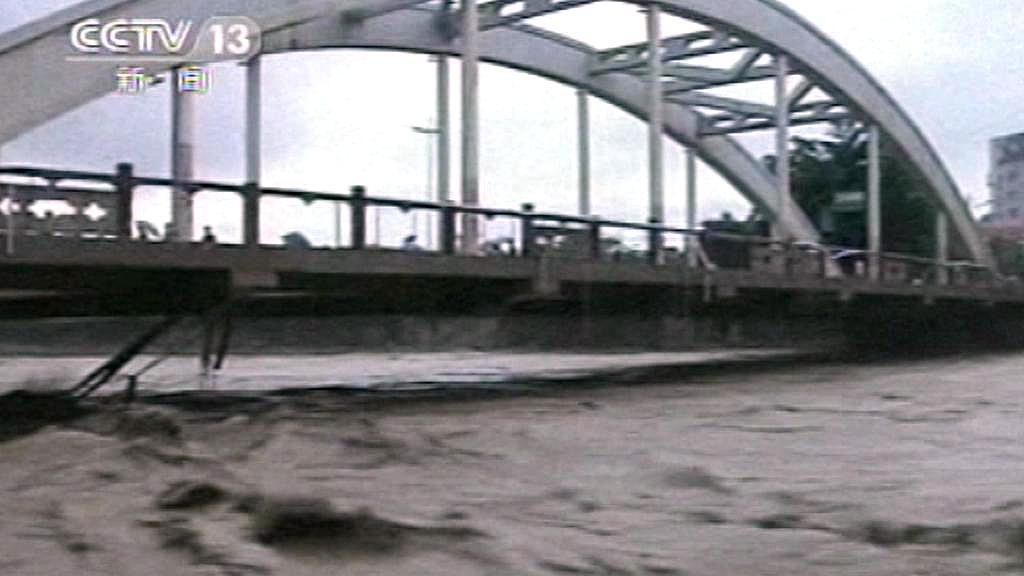 Povodně na jihozápadě Číny