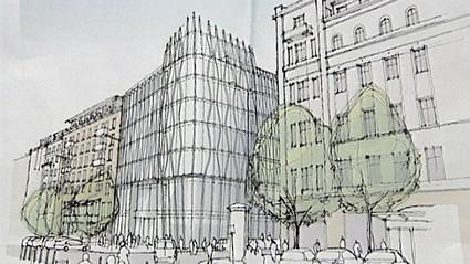 Návrh nové polyfunkční budovy