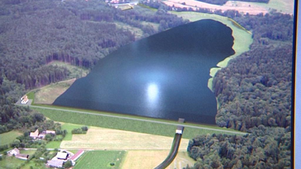 Studie přehrady na řece Dědině