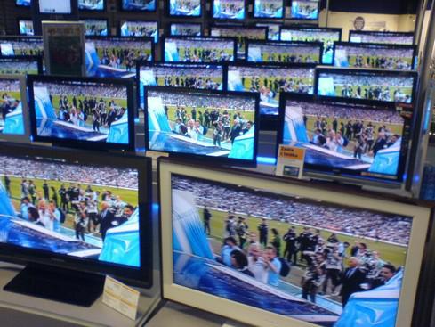 LCD televizory