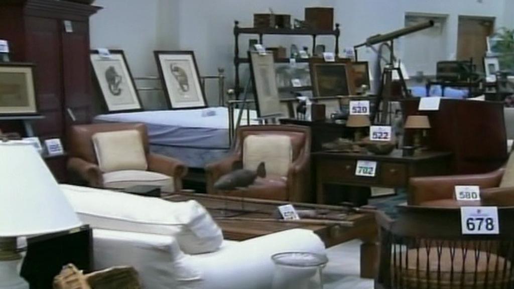Dražba Madoffova majetku