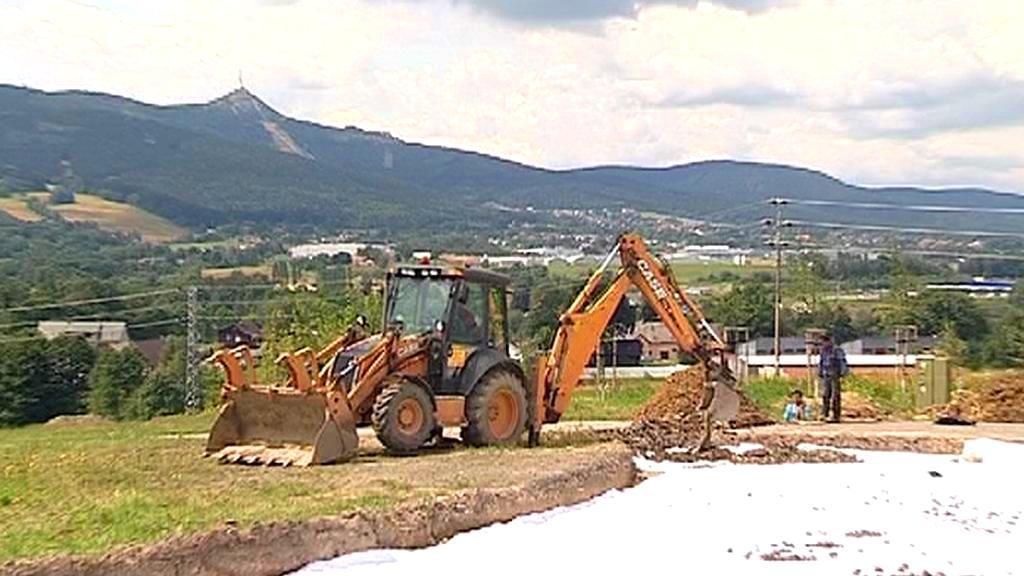Výstavba lyžařského areálu v Liberci