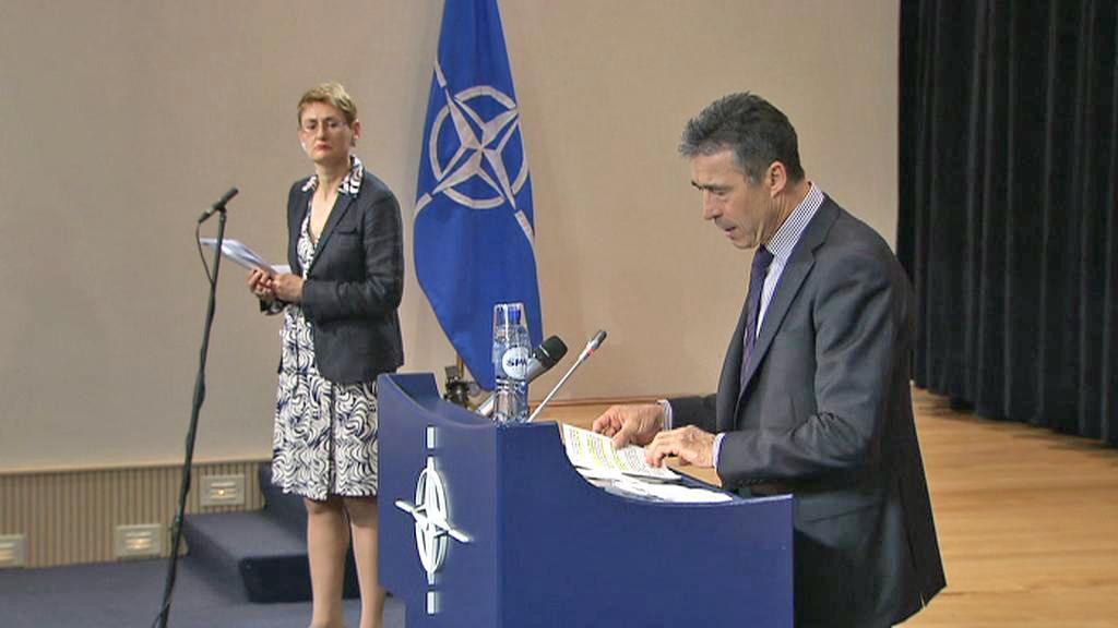 Brífink generálního tajemníka NATO